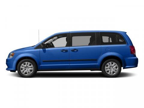 2018 Dodge Grand Caravan SE Indigo Blue ClearcoatBlackLight Graystone V6 36 L Automatic 0 mil