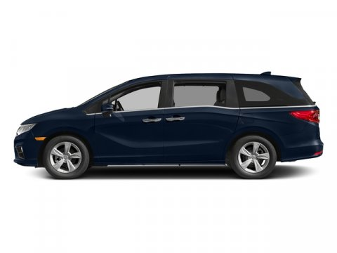 2018 Honda Odyssey EX Obsidian Blue PearlGray V6 35 L Automatic 110 miles  Front Wheel Drive