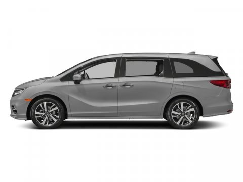 2018 Honda Odyssey Elite Lunar Silver MetallicMOCHA LEATHER SEAT STRIM V6 35 L Automatic 6 mil