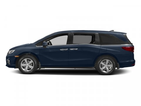 2018 Honda Odyssey EX-L with Navigation and Rear En Obsidian Blue PearlGray V6 35 L Automatic