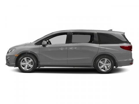 2018 Honda Odyssey EX-L Lunar Silver MetallicMOCHA LEATHER SEAT STRIM V6 35 L Automatic 5 mile