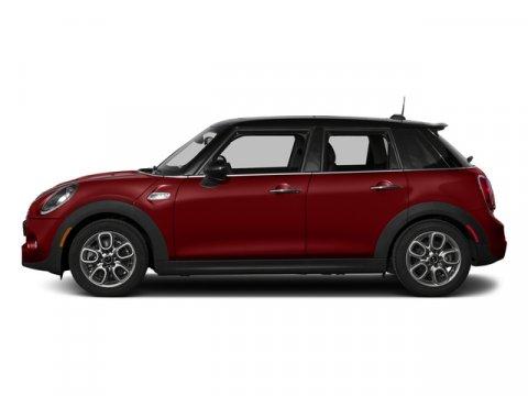 2018 MINI Hardtop 4 Door S Blazing Red MetallicK9E1 Carbon Black Leatherette V4 20 L Automatic