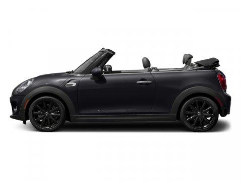 2018 MINI Convertible Cooper Lapisluxury BlueK9E1 Carbon Black Leatherette V3 15 L Automatic 7