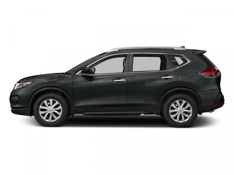 2018 Nissan Rogue S Magnetic BlackCharcoal V4 25 L Variable 0 miles  Front Wheel Drive  Powe