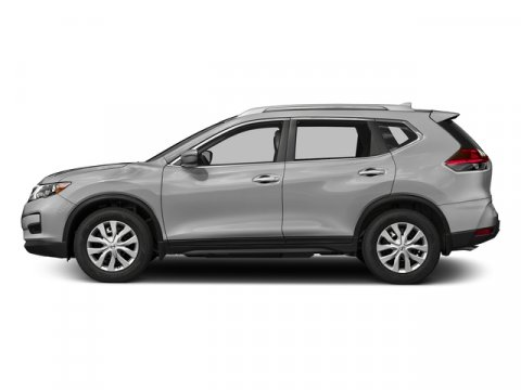 2018 Nissan Rogue S Brilliant SilverCharcoal V4 25 L Variable 0 miles  Front Wheel Drive  Po