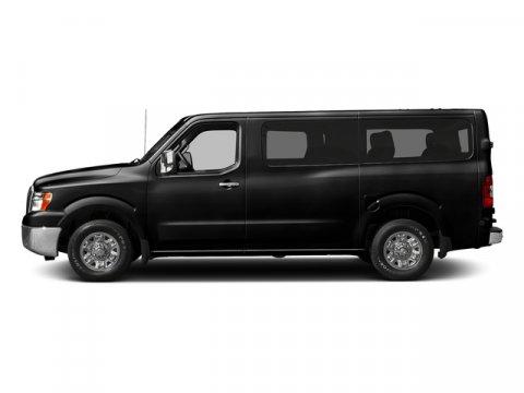 2018 Nissan NV Passenger SV Super BlackGrey V6 40 L Automatic 0 miles  Rear Wheel Drive  Pow
