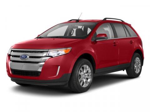 2013 Ford Edge SEL White Platinum Tri-Coat MetallicCharcoal Black V6 35L Automatic 75085 miles