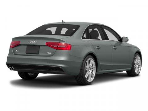 2014 Audi A4 Premium Gray V4 20 L Automatic 37160 miles MONSOON GRAY METALLIC exterior and BL