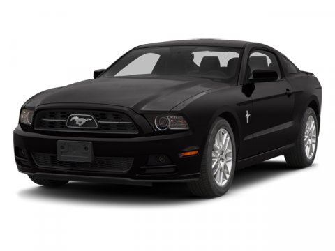 2014 Ford Mustang V6 Premium BlackCharcoal Black V6 37 L Automatic 73487 miles Clean CARFAX