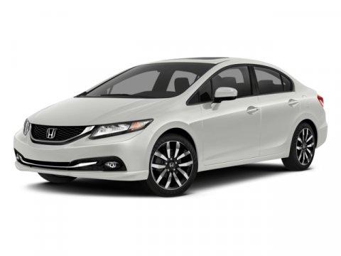 2014 Honda Civic Sedan EX-L Gray V4 18 L Automatic 50814 miles  Front Wheel Drive  Power Ste