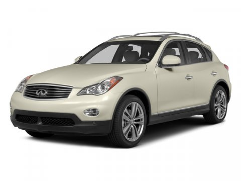 2015 INFINITI QX50 Journey Moonlight WhiteGraphite V6 37 L Automatic 7005 miles INFINITI of F