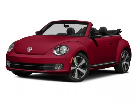 2015 Volkswagen Beetle Convertible BlueBlack V4 20 L Automatic 14341 miles RNS 315 Touchscree