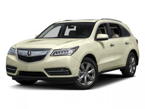 2016 Acura MDX with Advance Gray V6 35 L Automatic 43705 miles NavigationAcura QUALITY Acura