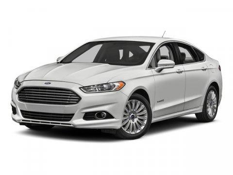 2016 Ford Fusion SE Hybrid White Platinum Metallic Tri-CoatCharcoal Black V4 20 L Variable 232