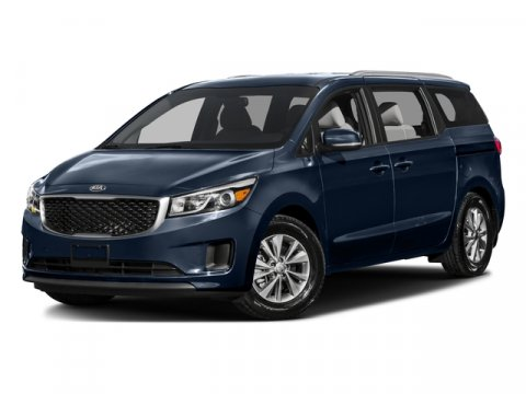 2016 Kia Sedona EX Blue V6 33 L Automatic 10 miles Front Wheel Drive Power Steering ABS 4-