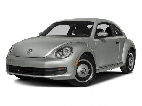 2016 Volkswagen Beetle Coupe 18T Classic Platinum Gray Metallic V4 18 L Automatic 0 miles Sc