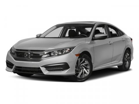 2017 Honda Civic Sedan EX White V4 20 L Automatic 6345 miles  Front Wheel Drive  Power Steer
