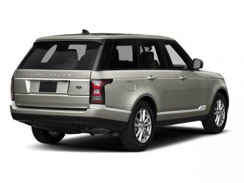 2017 Land Rover Range Rover HSE YULONG WHITEEbony V6 30 L Automatic 8 miles ALG Residual Valu
