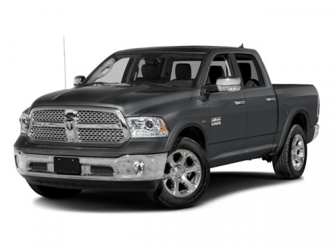 2017 Ram 1500 Laramie Vice Wht V8 57 L Automatic 50 miles Boasts 23 Highway MPG and 16 City M