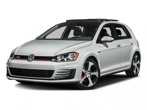 2017 Volkswagen Golf GTI  V4 20 L Manual 0 miles Delivers 34 Highway MPG and 24 City MPG Thi