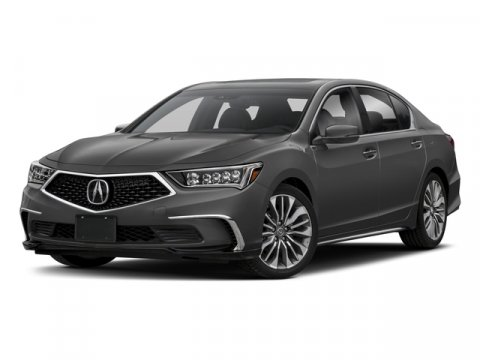 2018 Acura RLX with Technology Pkg Platinum White PearlEspresso V6 35 L Automatic 10 miles In