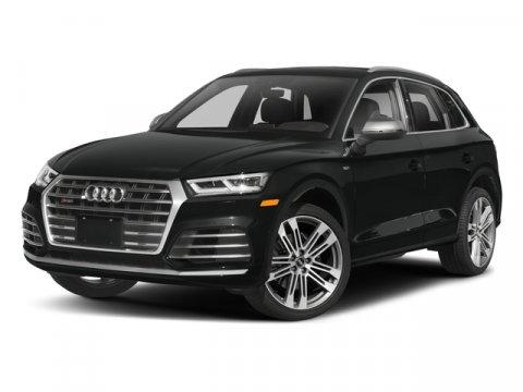 2018 Audi SQ5 Premium Plus Navarra BlueRotor Gray V6 30 L Automatic 10 miles Great design is