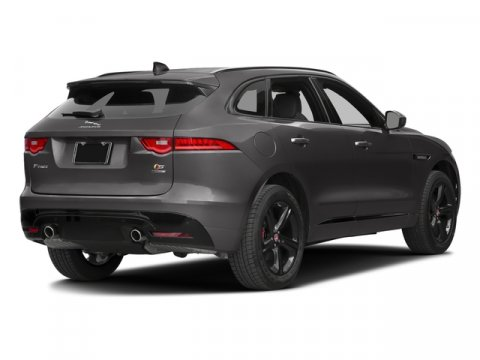 2018 Jaguar F-PACE S BRITISH RACINGEbony V6 30 L Automatic 8 miles Delivers 23 Highway MPG an