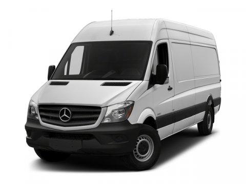 2018 Mercedes Sprinter Cargo Van Grey WhiteLeatherette Bla V6 30 L Automatic 17 miles At Merc