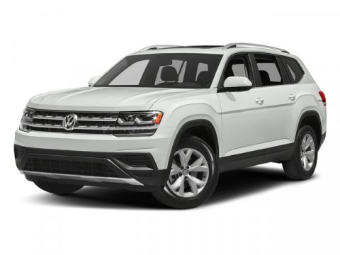2018 Volkswagen Atlas 36L V6 Launch Edition Pure White V6 36 L Automatic 9 miles New Arrival