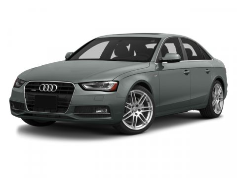 2014 Audi A4 Premium Monsoon Gray MetallicBlack V4 20 L Variable 46540 miles CARFAX 1-Owner