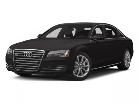 2014 Audi A8 L 30T Oolong Gray MetallicBlack V6 30 L Automatic 48920 miles CARFAX 1-Owner O