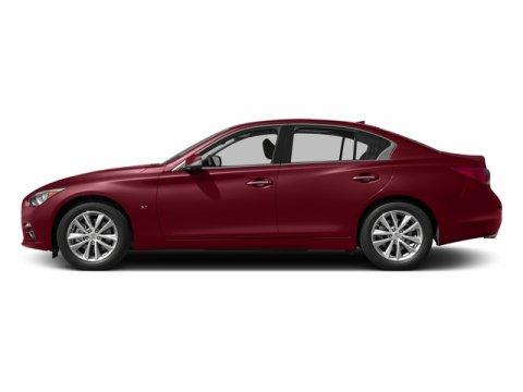 2015 INFINITI Q50 Premium Venetian RubyGraphite V6 37 L Automatic 5685 miles Delivers 29 High