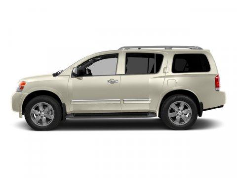 2015 Nissan Armada SL Pearl WhiteAlmond V8 56 L Automatic 27375 miles  M92 REAR CARGO NET