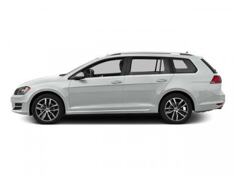 2015 Volkswagen Golf SportWagen TDI S Pure WhiteTitan Black V4 20 L Automatic 0 miles Boasts