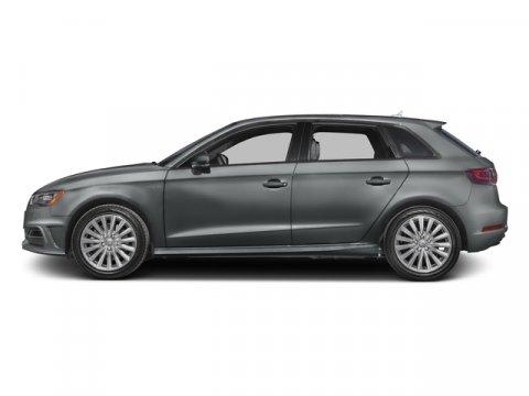 2016 Audi A3 e-tron Premium Plus Monsoon Gray MetallicBlack V4 14 L Automatic 74 miles This A