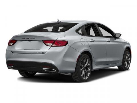 2016 Chrysler 200 Billet Silver Metallic Clearcoat V4 24 L Automatic 10 miles Scores 36 Highw