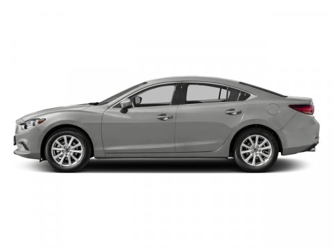 2016 Mazda Mazda6 i Sport Sonic Silver MetallicBlack V4 25 L Automatic 63522 miles 17 Alloy W