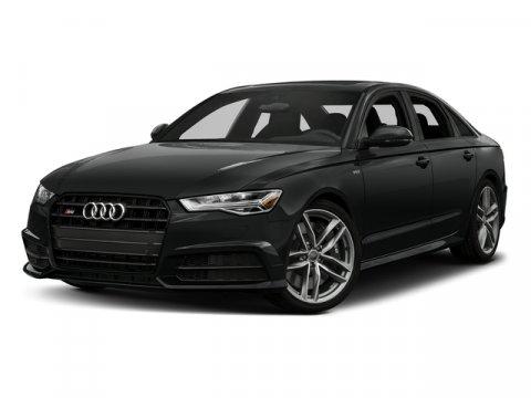 2017 Audi S6 Premium Plus Mythos Black MetallicBlack V8 40 L Automatic 0 miles Moonroof Heat