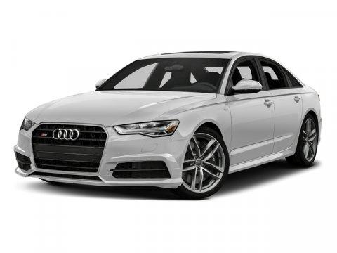 2017 Audi S6 Premium Plus Glacier White MetallicBlack V8 40 L Automatic 0 miles Heated Leathe