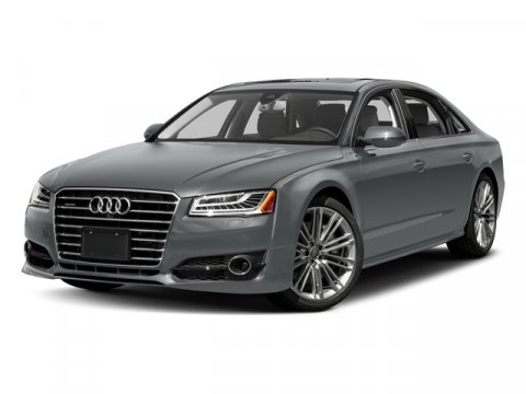 2017 Audi A8 L Sport Monsoon Gray MetallicBlack V8 40 L Automatic 0 miles Heated Leather Seat