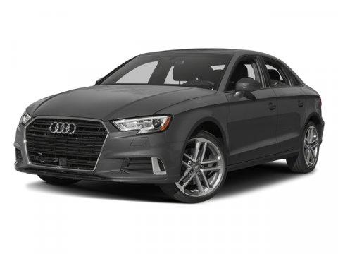 2017 Audi A3 Sedan Premium Nano Gray MetallicBlack V4 20 L Automatic 0 miles Sunroof Heated