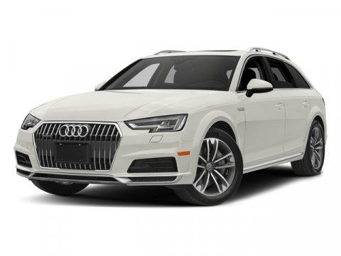 2017 Audi allroad Premium Plus Ibis WhiteBlack V4 20 L Automatic 0 miles Moonroof Heated Lea