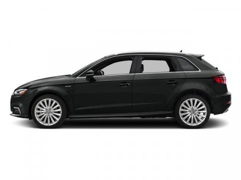 2017 Audi A3 Sportback e-tron Premium Mythos Black MetallicBlack V4 14 L Automatic 4919 miles