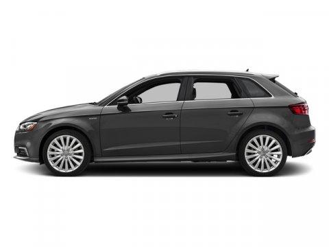 2017 Audi A3 Sportback e-tron Premium Nano Gray MetallicChestnut Brown V4 14 L Automatic 0 mil