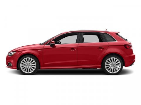 2017 Audi A3 Sportback e-tron Premium Plus Tango Red MetallicBlack V4 14 L Automatic 0 miles