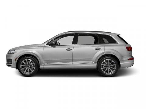 2017 Audi Q7 Premium Plus Glacier White MetallicBlack V6 30 L Automatic 0 miles Delivers 25 H