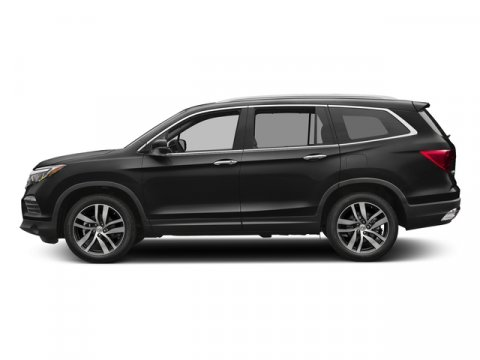 2017 Honda Pilot Touring Crystal Black PearlGray V6 35 L Automatic 9 miles  GRAY LEATHER-TRIM