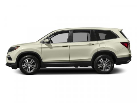 2017 Honda Pilot EX-L White Diamond PearlBlack V6 35 L Automatic 7 miles  BLACK LEATHER-TRIMM