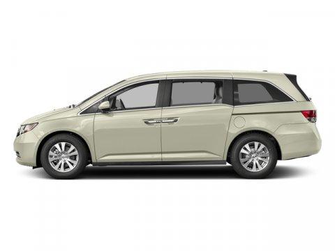 2017 Honda Odyssey EX-L wRES White Diamond PearlTruffle V6 35 L Automatic 11 miles 2017 Hond