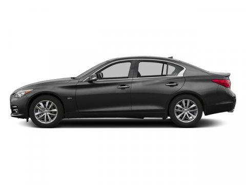 2017 INFINITI Q50 30t Signature Edition Black ObsidianWheat V6 30 L Automatic 0 miles Boasts
